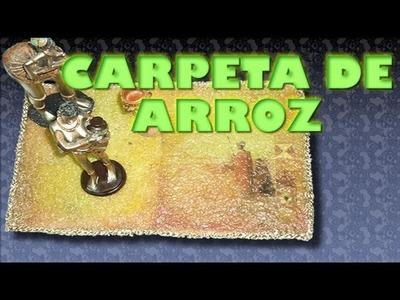 CARPETA DE ARROZ (centro de mesa)