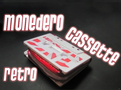 Cassette Monedero Retro || Manualidades para regalar