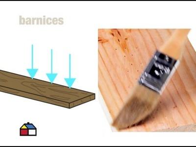 ¿Cómo extender la vida de la madera?