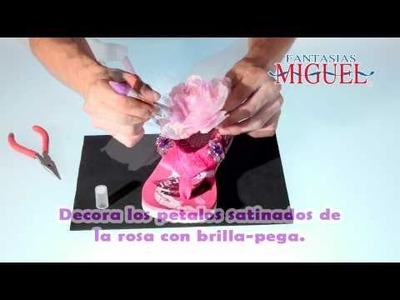 Como decorar una Sandalia Rosa