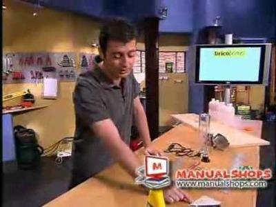 Como hacer una lampara de lava parte 1