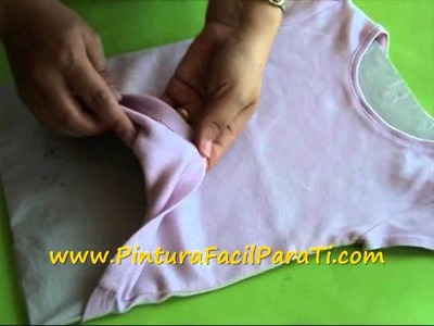 Como Pintar en Tela Trucos *Paint on Fabric* Como Pintar Camisetas Pintura en Tela Pintura Facil