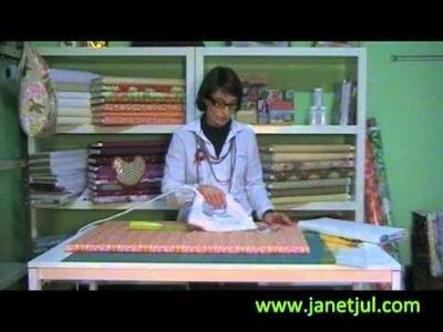 Como plastificar telas en casa, tutorial de Jan et Jul