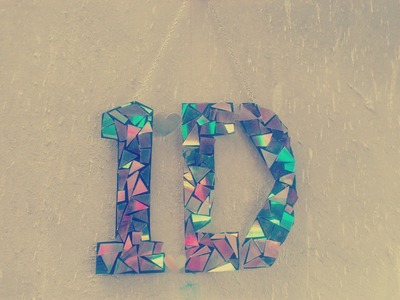 DIY - Colgante de CDs - Manualidades de One Direction