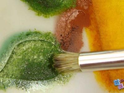 DIY Pintura en Tela Como Pintar con Plantillas Facil **Painting with Stencils** Pintura Facil