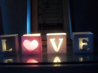 Letrero LOVE ♥ [Especial de San Valentín 1]