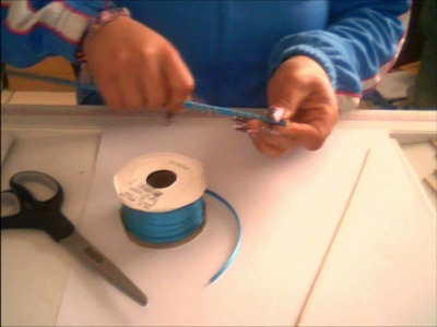 Moños de liston (como hacer los chinitos)