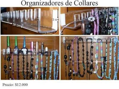 Organizadores de accesorios
