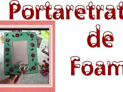 Portarretrato navideño (Fomy)