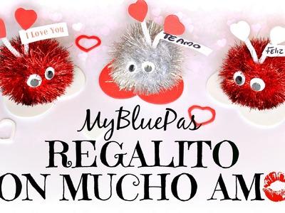 Regalo facil y lindo para San Valentin - MyBluePas