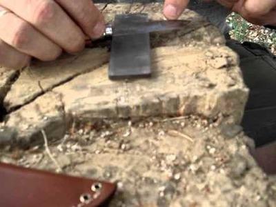 Técnica de afilado para cuchillo y navaja