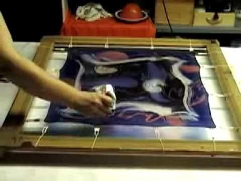 Www.domenjo.net. Arte de pintar la seda con pinturas H.Dupont-Batik