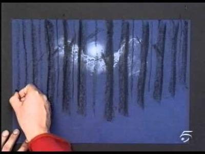 ART ATTACK - CAPITULO 22 - TERCERA PARTE - ARBOLES A LA LUZ DE LA LUNA
