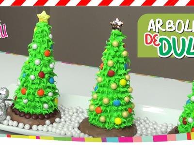 Candy CHRISTMAS Tree. Arbolitos de Dulce NAVIDAD