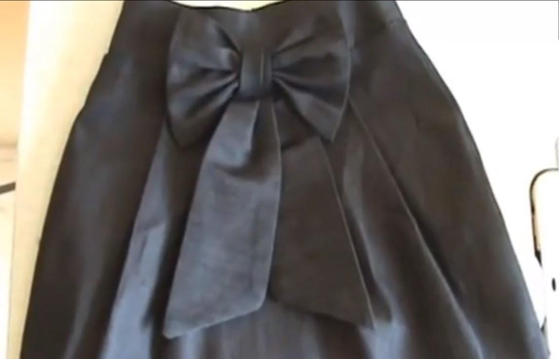 Como Hacer Una Falda De Mezclilla  --How To Make a Denim Skirt