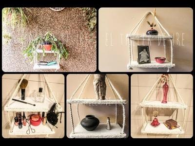 DIY: Estantería de carton