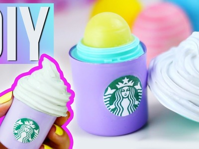 DIY LABIAL DE STARBUCKS - Transforma tu EOS!