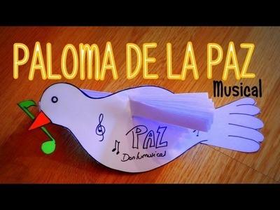 DIY PALOMA DE LA PAZ MUSICAL Peace Dove DONLUMUSICAL