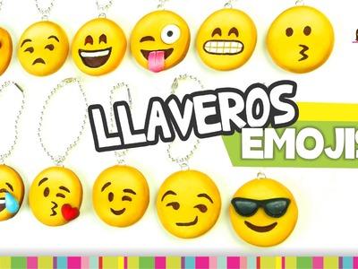 FÁCIL✔ EMOJIS Keychain. LLAVEROS de Emojis