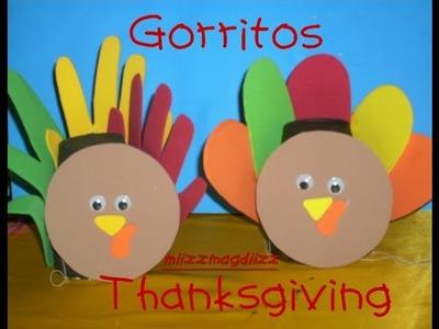 Gorritos Thanksgiving. acción de gracias