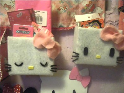 Mis manualidades de hello kitty