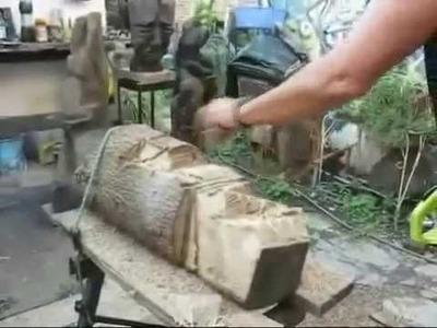 Talla en madera - parte 1