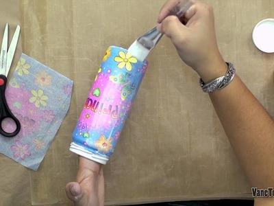 VaneTorres: Pintura de Botellas