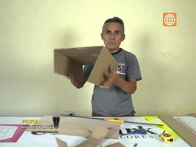 Como Construir una Silla de Carton