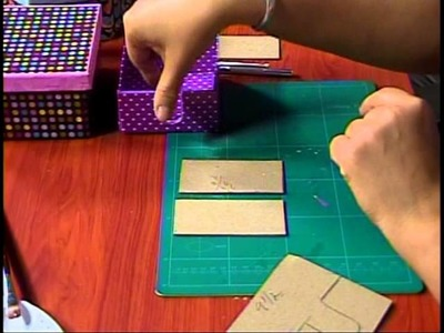 Detalles Magicos con MimiLuna Invitada Lesbia Mena Cartonaje parte 4