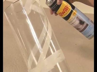 Esmerilado en vidrio con aerosoles Kuwait - Gimena Dusi