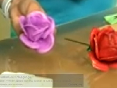 Flores de Foami - Programa 9 -  parte 1.3