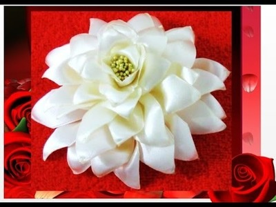 Flores en cintas beautiful flowers in ribbons