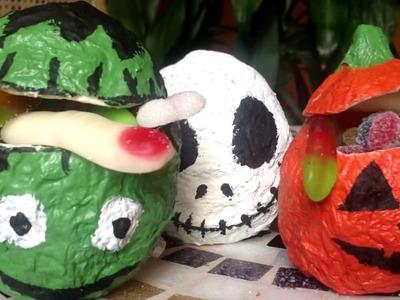Monstruitos de Halloween || Manualidades de Halloween