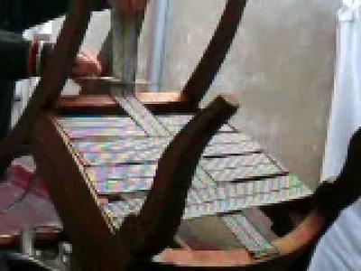 Restauración completa de una silla. Parte III
