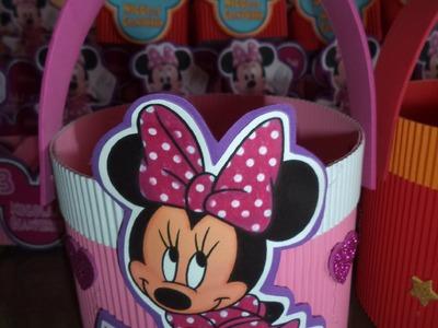 Como hacer dulcero para sorpresas mickey y minnie