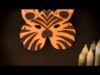 Cómo hacer un antifaz de tigre : Antifaces de animales para niños