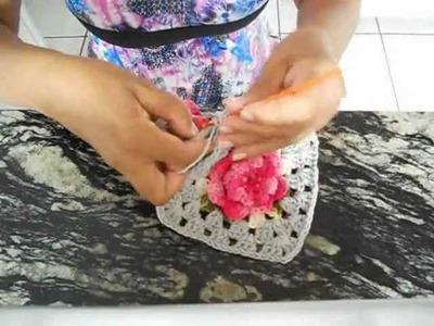 Croche porta papel higienico parte 3.4