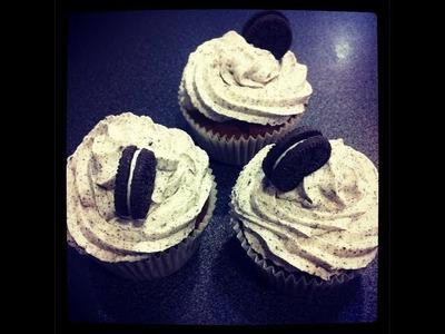 Cupcakes de Oreo!! - FÁCIL!!!!!