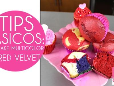 Cupcakes San Valentin : Cupcake Red Velvet Y Multicolor San Valentin
