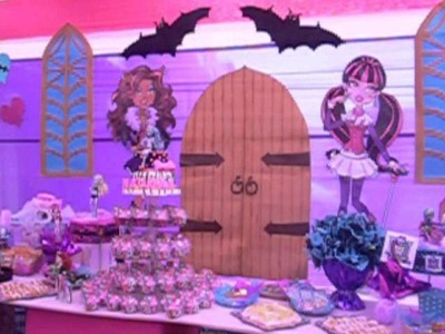 Decoración Monster High - Recreolandia Producciones