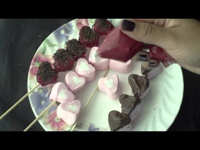 DIY: BOMBONES CON CHOCOLATE PARA SAN VALENTIN