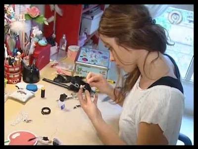 En el taller de hadas de Macarena Gea (informativos Canal 9)