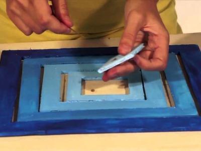 Móvil colgante en Komafoam - cartón pluma. Hanging mobile in komafoam - Foam Board