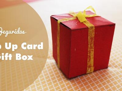 Pop Up birthday & gift box. tarjeta + detalle + pop up original