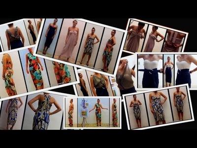 Recopilación de prendas de moda realizadas sin coser - Fashion dresses stitch free