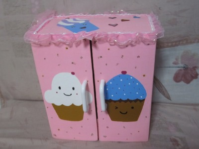 Segunda parte del organizador cupcake