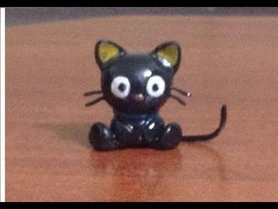Tutorial Chococat. Gatito (porcelana fria o plastilina. Clay)