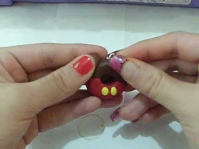 Tutorial : dona de micky mouse en arcilla polimerica !!