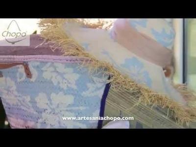Tutorial: Personaliza tu cesta, la esterilla un sombrero… con Pintura Chalky