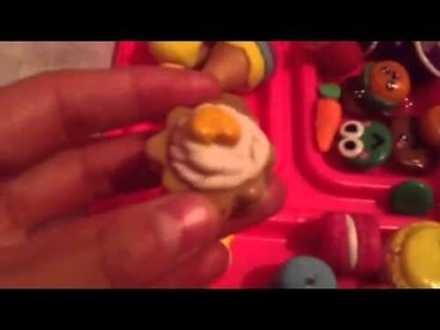 Actualización figuras de porcelana masa de sal y play doh